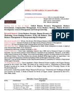 Latest Profile of Dr. J.N. Saikia