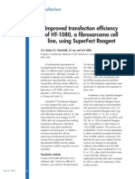 J.E.J. Rasko, R.J. Gottschalk, S.F. Jue, and A.D. Miller- Improved transfection efficiency of HT-1080, a fibrosarcoma cell line, using SuperFect Reagent