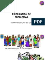 PRIORIZACION DE PROBLEMAS