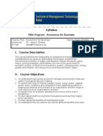 Economics for Business 2