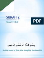 QR 011 Surah 002-219-243