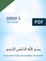 QR 012 Surah 002-244-286