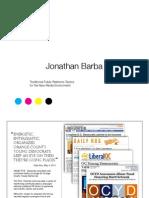 Jonathan Barba Portfolio