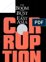 Corruption the Boom and Bust of EastAsia