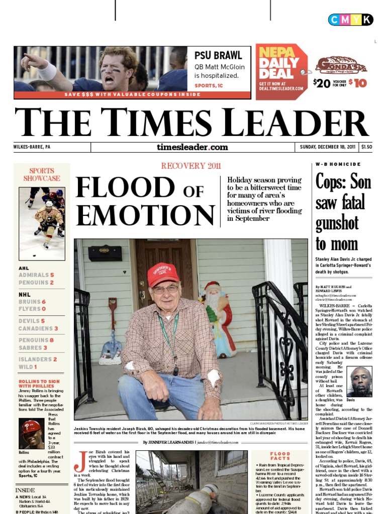 Times Leader 12 18 2011 Powerball Mega Millions Tm551279 Diesel Electric 56 Gage 44 Ton 0440 400 Hp Davenport