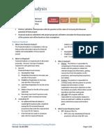 Financial Analysis Course Notes