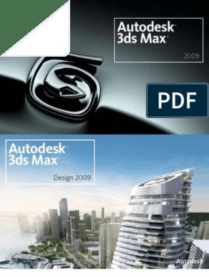 3ds Max (Design) 2009 Shortcut Guide   Auto Cad   Autodesk