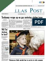 The Dallas Post 12-18-2011