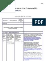 Revue de presse du 10 au 17 décembre 2011