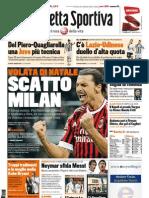La Gazzetta dello Sport - 18/12/2011