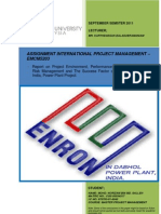 EMCM5203 Assignment - International Project Management