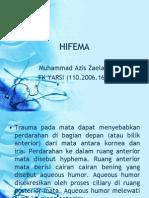 Presentasi Referat Hifema