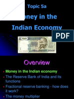 Topic 5a Money in India PGPPM
