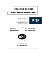 Interactive Science Simulation Documentation