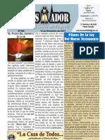 """2011-12-18 """"El Conquistador"""", boletín semanal de """"La casa de todos""""."""