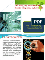 CN Sinh Tong Hop Interferon Va Interleukin