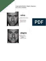 7 tipos de micro expressões