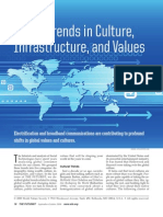 Global Trends in Culture, Infrastruture, and Values by Andy Hines