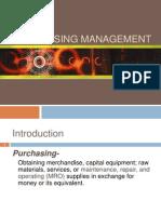 2 Purchasing Management