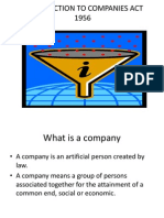 Companies Act Ppt.