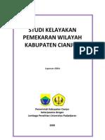 Studi Kelayakan Pamekaran Daerah Cianjur