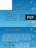 NMR (Nuclear Magnetic Resonance)