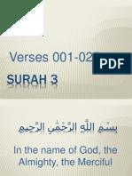 QR-013 Surah 003-001-025