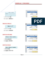 Formulas y Funciones