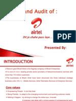 Airtel Brand Audit
