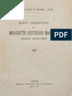 Moschetto Mannlicher Mod 1895 1931