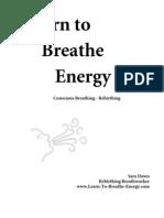Learn to Breathe Energy