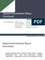 Departementalisasi Biaya Overhead FIX