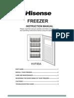 HVF85A User Manual