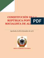 Constitución de la República Popular Socialista de Albania (1976)