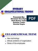 Contemporary Organizational Trends