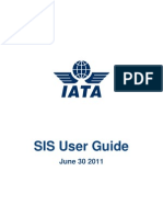 Iata Sis User Guide v1.1
