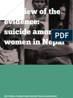 110805 a Review of the Evidence Suicide Among Women in Nepal - Final (1)
