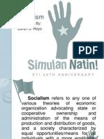 Zarah S. Royo Socialism)