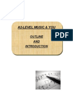 A2 Level Outline