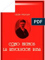 Leon Trotsky, Como Hicimos La Revolucion Rusa