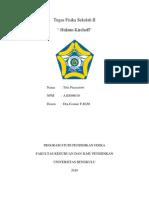Hukum I Dan II Kirchoff