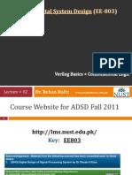 ADSD Fall201 02 Combinational VerilogBasics 26Sep11