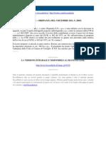 Corte Di Cassazione n 26052 2011