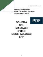 Manuale Uso Degli Alloggi Di Erp Del Comune Di Milano