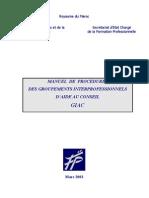 Manuel Des Procedures GIAC Mars 2003