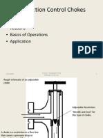 Production Choke Basics