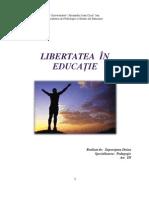 Libertatea in Ed-proiect