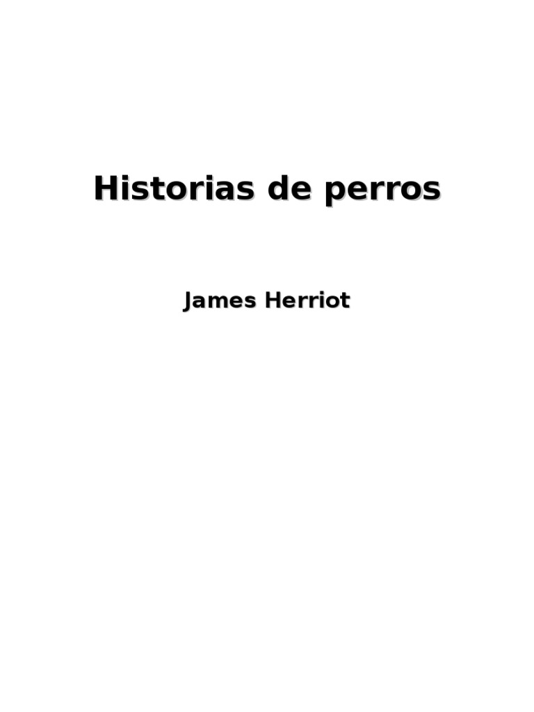 Historias de Perros - Herriot James
