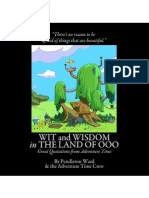 """""""Wit and Wisdom in the Land of Ooo"""