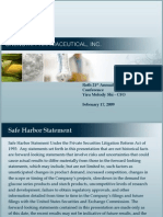 SGTI Investor Presentation (Final) Feb 09